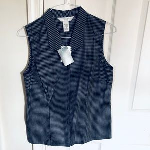 Geoffrey Beene sleeveless blouse